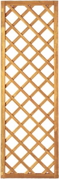 Diagonal-Rankzaun grün 10 x 10 cm 60 x 180 cm Rahmen 45/45 mm