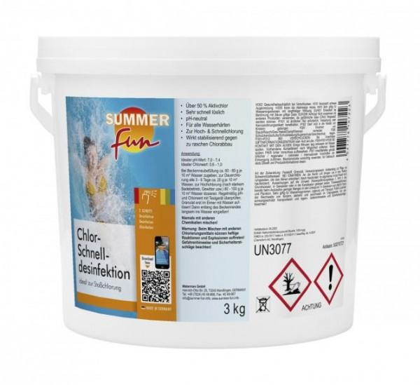 Chlor Schnelldesinfektion 3 kg