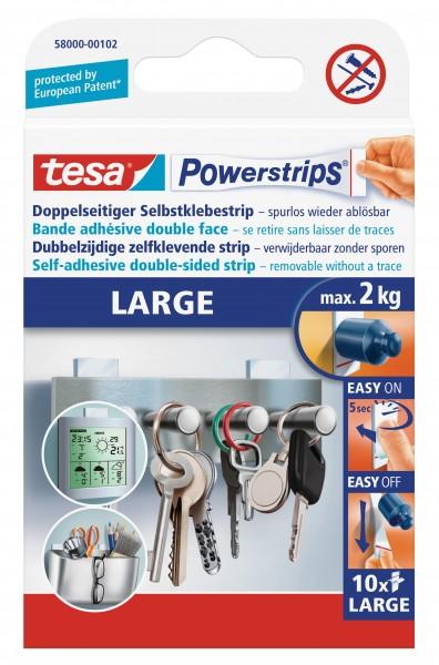 tesa Powerstrips® Large, 10 Stück