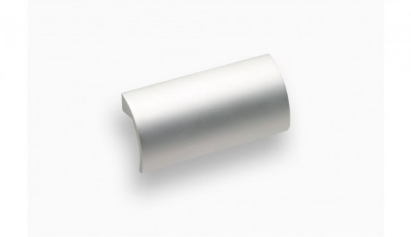 Möbelgriff Ø 64 mm, aluminiumfarbig