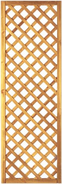 Diagonal-Rankzaun grün 6 x 6 cm 60 x 180 cm Rahmen 45/45 mm