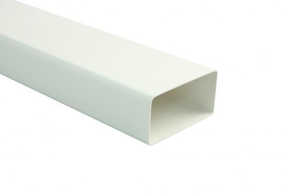 Marley Flachkanal 110, 110 x 54 mm, Länge 1000mm, weiß