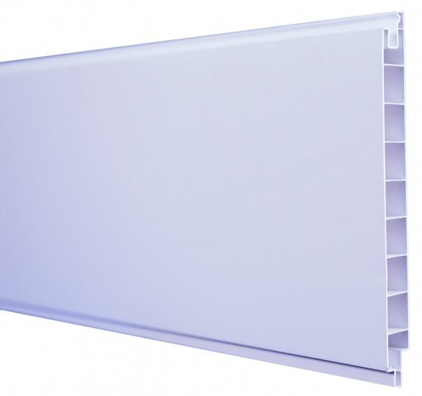 LIGHTLINE Steckzaunsystem Nut- und Federprofil 17 x 200 mm, Länge 180 cm
