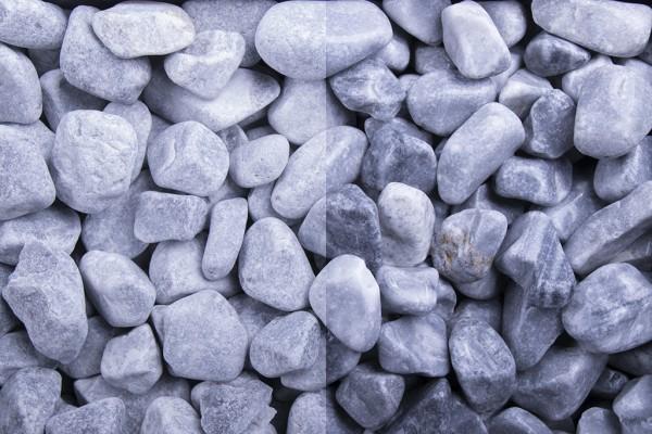 Kristall Blau getrommelt 16-25 mm