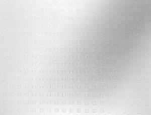 Glasdekorfolie 200 x 45 cm, Hufnagel, Selbstklebend