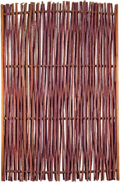 PEPE Haselnusszaun 120 x 180 cm Haselnussruten, Rahmen ca. 45 x 25 mm,