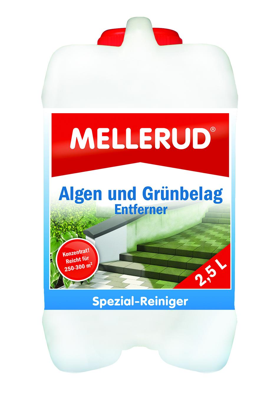 mellerud algen und gr nbelag entferner 2 5 l reinigung pflege schutz haus wohnen. Black Bedroom Furniture Sets. Home Design Ideas