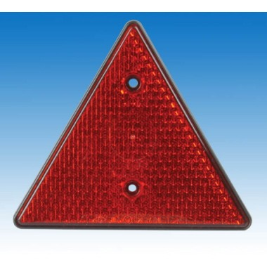 Unitec Dreiecksreflektor rot
