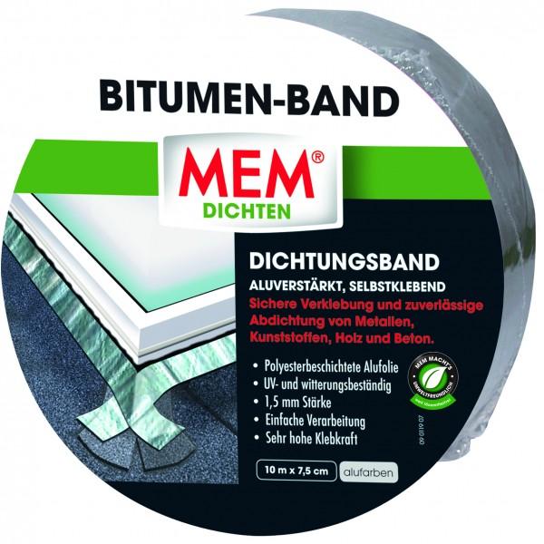 MEM Bitumen-Band 10m x 7,5cm alu