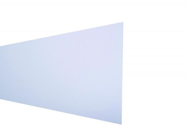 FARÖ-Serie HPL-Steckzaunsystem Zaunlamelle WEIß 6 x 329 x 1792 mm