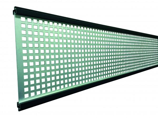 GOTLAND-Serie WPC-Steckzaunsystem Gitterfüllung 1,5 x 206 x 1793 mm ANTHRAZIT
