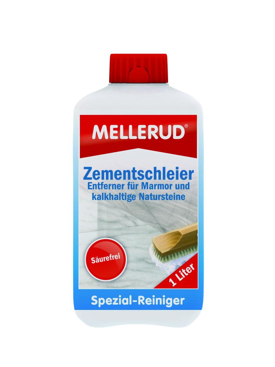 MELLERUD Zementschleier Entferner für Marmor und kalkhaltige Natursteine 1,0 l