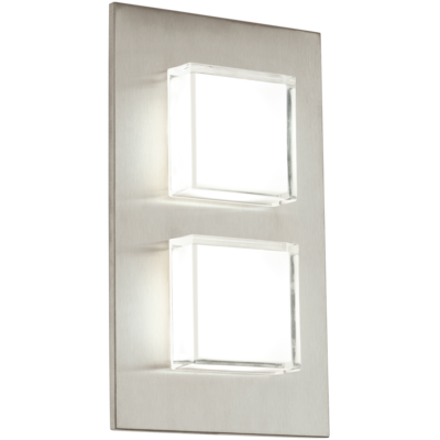 Eglo LED-Auswandleuchte PIAS Edelstahl