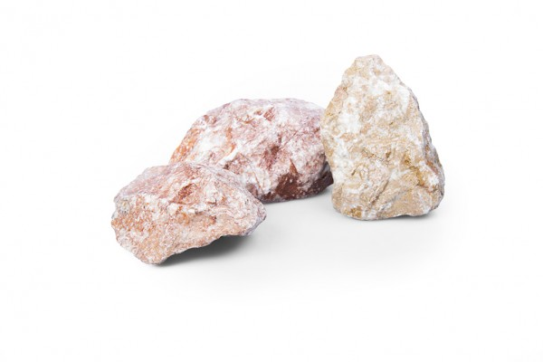 Gabionensteine Tiroler Rot 80-120 mm BigBag