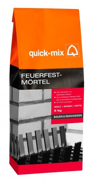 Quick-Mix Feuerfestmörtel 5 kg