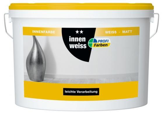 Profi Farben Innenweiß 2,5 Liter