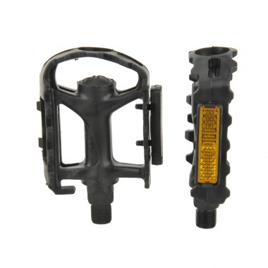 Fischer Kunststoffpedale MTB mit Reflektoren