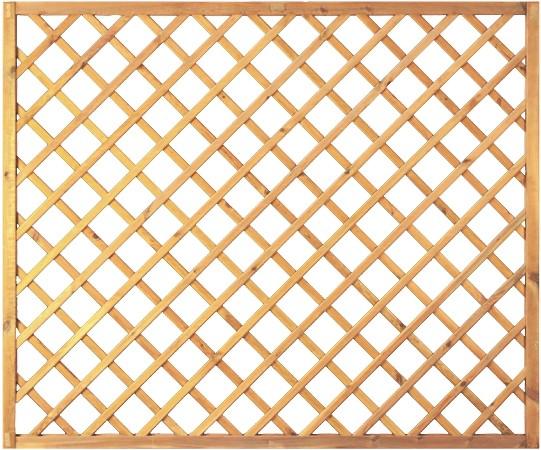 Diagonal-Rankzaun grün 10 x 10 cm 180 x 150 cm Rahmen 45/45 mm