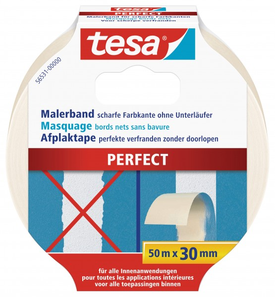 tesa® Malerband Perfect, 50m : 30mm