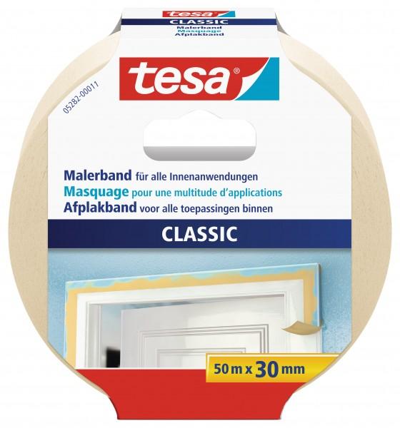 tesa® Malerband Premium Classic, 50m : 30mm