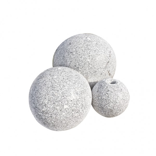 Ball's Granit 20 cm gebohrt