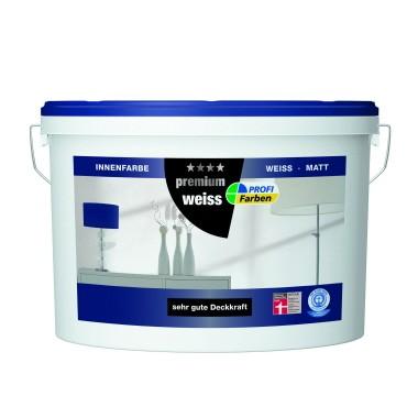 Profi Farben Premium Weiss 5 Liter