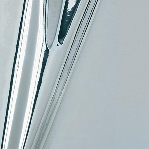 Metalleffektfolie, 150 x 45 cm, Silber, Metallic, Selbstklebend