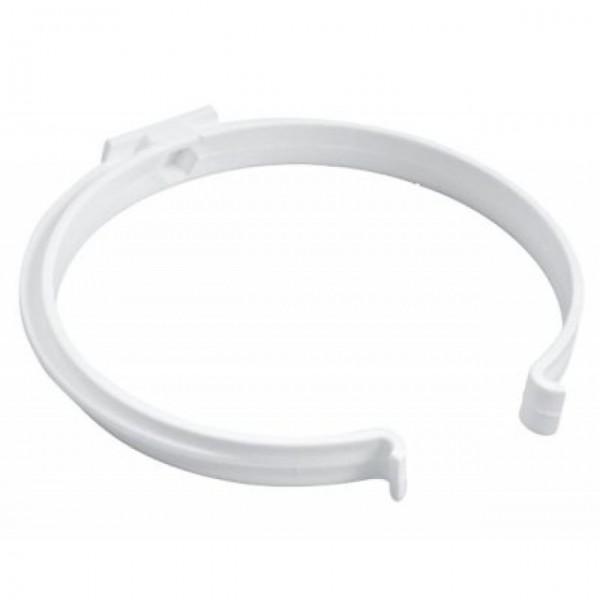 Marley Rohrhalter für Rundrohr, DN 150, weiß, 2 Stk.