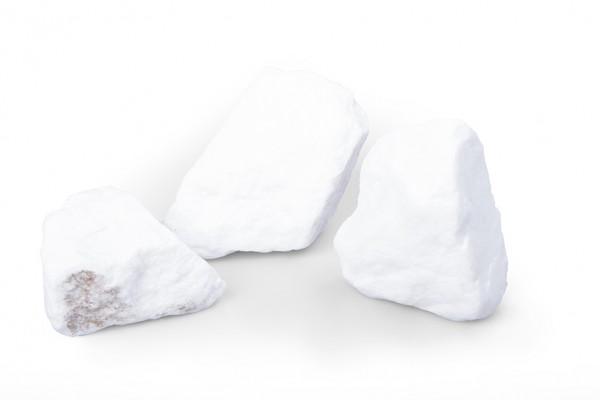 Gabionensteine Schneeweiss 50-150 mm BigBag