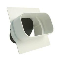 Marley Flachkanaladapter 150x80 mm / DN 125 mm, weiß