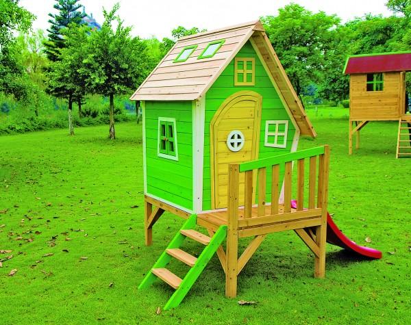 Unterbau zu Kinderspielhaus FRANZI 240 x 163 x 139 cm >>> OHNE Rutsche <<<