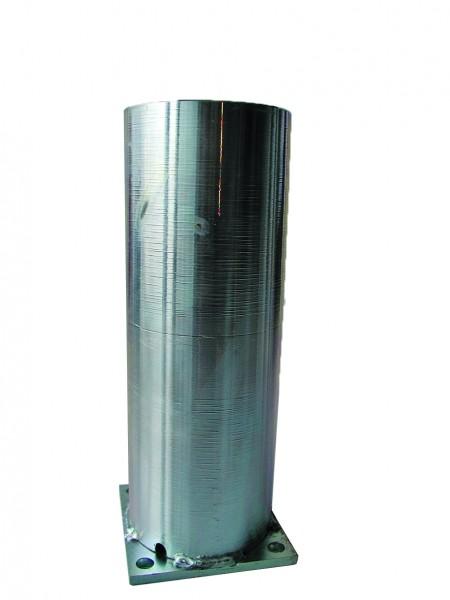 Pfostenkonsole, Lightline für Zaunpfosten zum Aufdübeln ohne Dübel und Schrauben