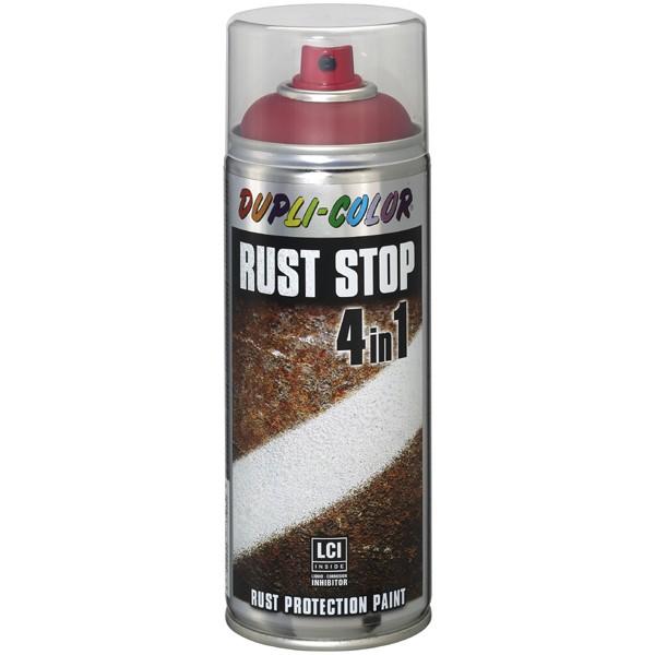 RUST STOP tiefschwarz seidenmatt RAL 9005 400 ml