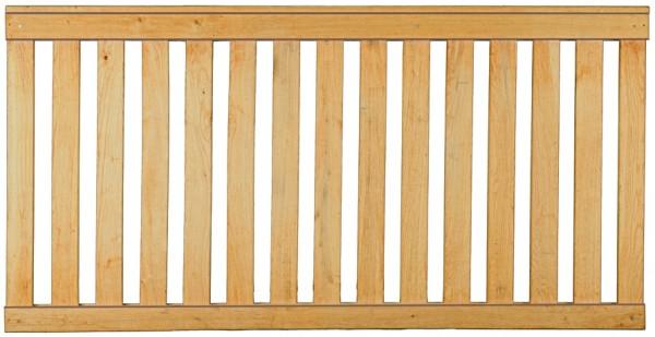 ANTONIO-Rahmenzaun Eiche 180 x 90 cm, Lattenstärke 20 x 80 mm