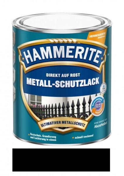 Hammerite Metallschutz-Lack matt 2,5 l schwarz