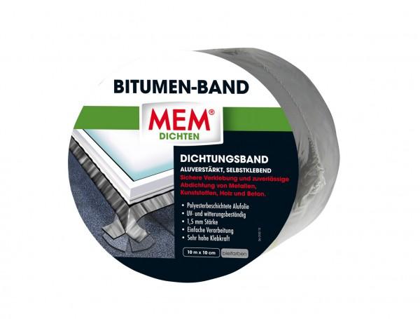 MEM Bitumen-Band 10m x 10cm blei
