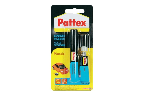 Pattex Sekundenkleber Plastix Kleb Dichtstoffe Farbwelten