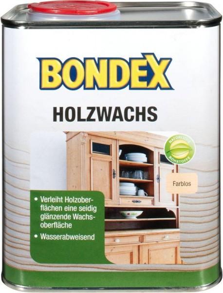 Bondex HolzWachs Farblos 0,75 l