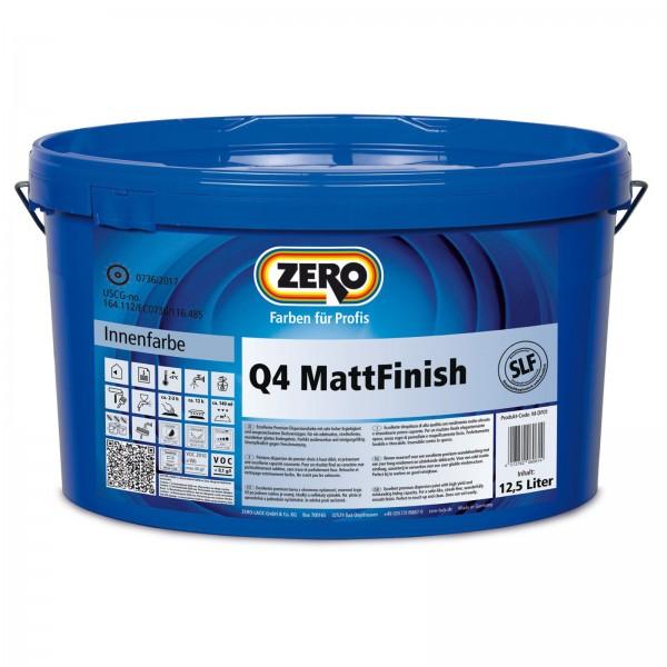 ZERO Q4 MattFinish weiß
