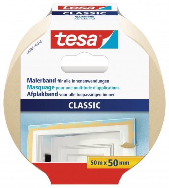 tesa® Malerband Premium Classic, 50m : 50mm