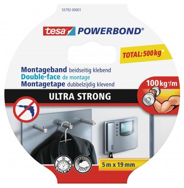 tesa® Powerbond Ultra Strong, 5 m : 19 mm
