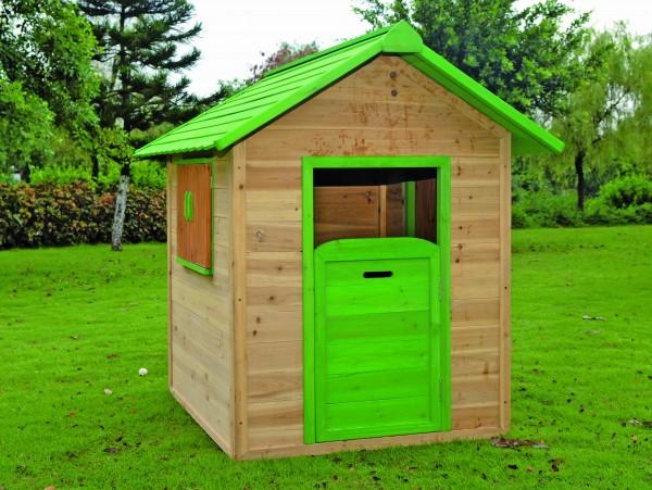 CARLI-Kinderspielhaus 120 x 140 x 133 cm Fichte, teilw. farbig behandelt