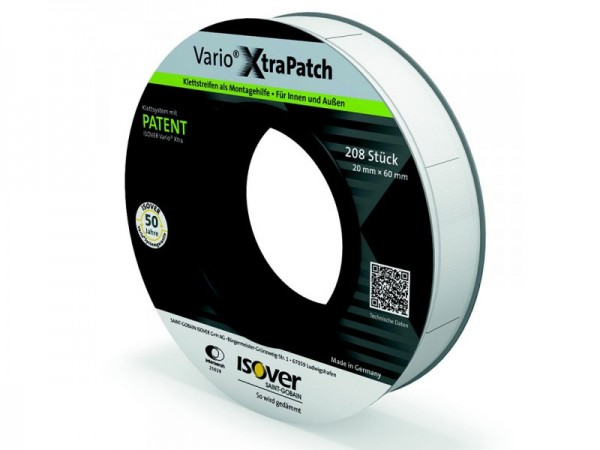 Isover Vario XtraPatch Klettstreifen 20 x 60 mm Rolle a 208 Stück