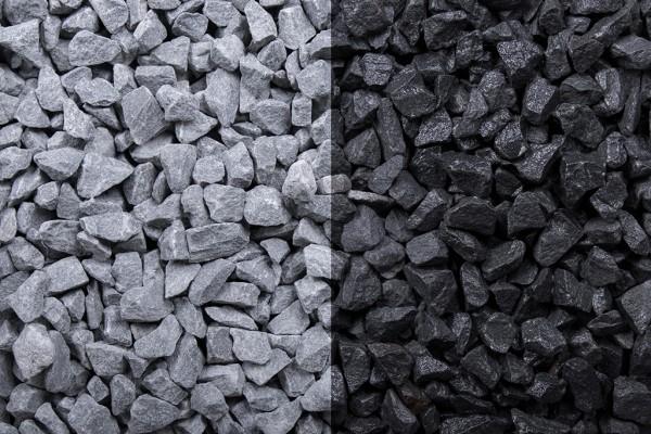 Basaltsplitt 8-11 mm 20 kg Sack
