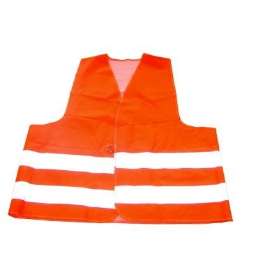 Unitec Warnweste neon-orange DIN EN 471