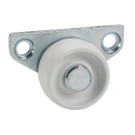 Parkett-Seitenrolle 30x14mm, TPE-Rad grau