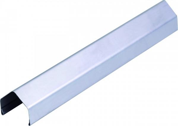 PROTEC Rahmenprofil aus Metall 180 cm, Pyramide EDELSTAHL für 45 mm Rahmenl
