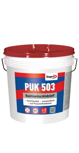 Sopro PU-Kleber PUK 503 Harz-Kleber