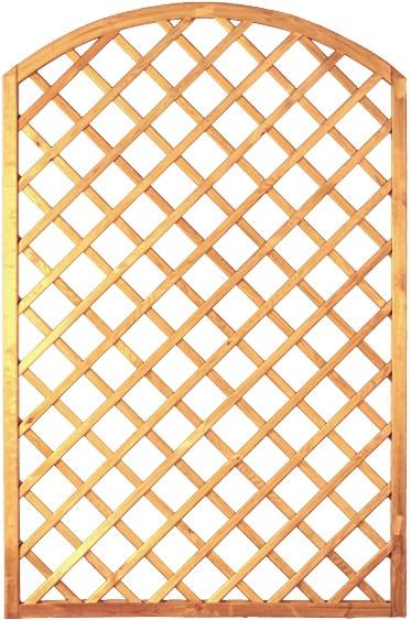 Bogen-Rankzaun-Serie grün 10 x 10 cm 120 x 180/160 cm Rahmen 45/45 mm