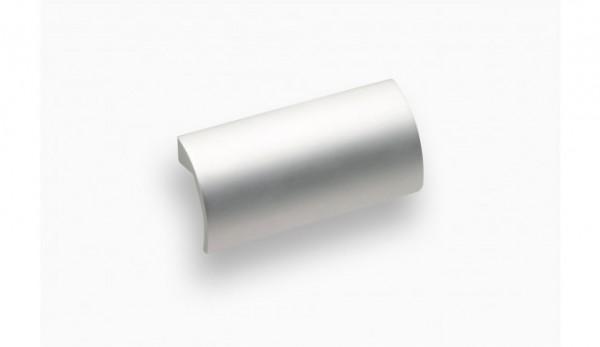 Möbelgriff Ø 32 mm, aluminiumfarbig